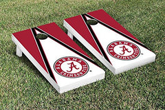 Alabama Crimson Tide Cornhole Game Set Triangle Version 1