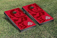Ohio State Buckeyes Cornhole Game Set Brutus Version 2
