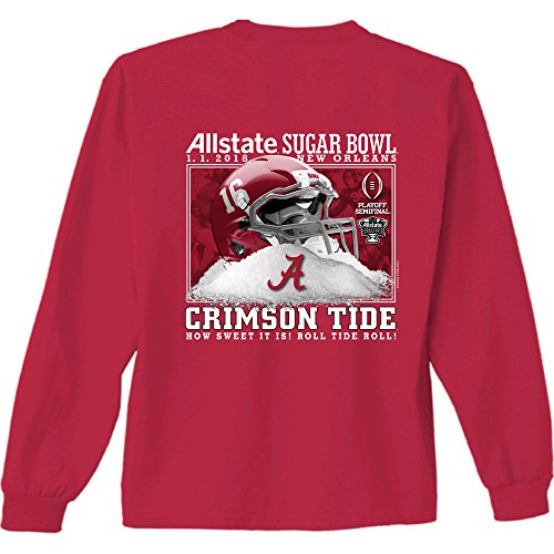 Alabama Crimson Tide Sugar Bowl 2018 Long Sleeve T Shirt