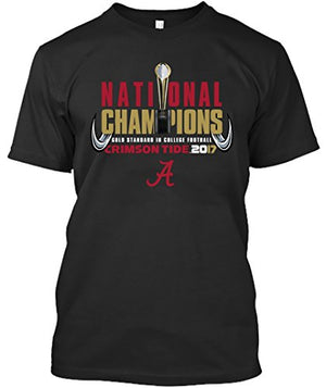Alabama Crimson Tide National Champs 2017 - Trophy 17 T-shirt