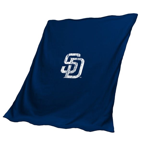 San Diego Padres Sweatshirt Throw