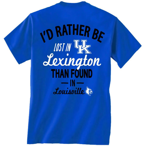 Picture of Kentucky Wildcats Lost in Lexington Shirt