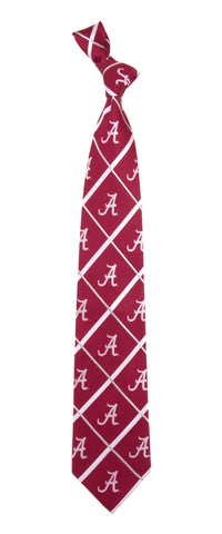 Picture of Alabama Crimson Tide Silver Line Silk Tie