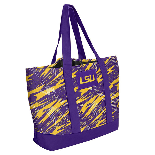 LSU Tigers Women's Shatter Tote Bag
