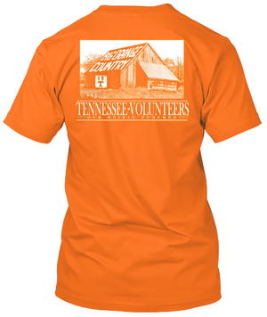Tennessee Volunteers Barn T-shirt Big Orange Country