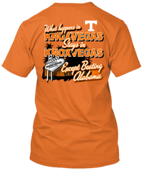 Tennessee Volunteers Knox Vegas T-shirt