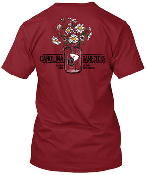 South Carolina Gamecocks Flower Bouquet and Southern Charm Tshirt