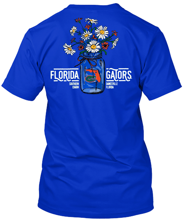 Florida Gators Flower Bouquet and Southern Charm Tshirt