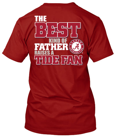Picture of Alabama Crimson Tide Best Dad Father's Day Tshirt