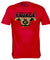 "Georgia Bulldogs ""Savage"" Junkyard Dawg Shoulder Pads T Shirt"