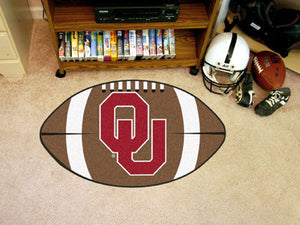 Oklahoma Sooners Football Mat
