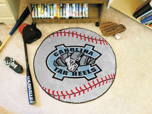 North Carolina Tar Heels Baseball Mat