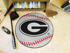 Georgia Bulldogs Baseball Mat