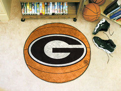 Georgia Bulldogs Basketball Mat