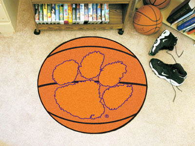 Picture of Clemson Tigers Basketball Mat
