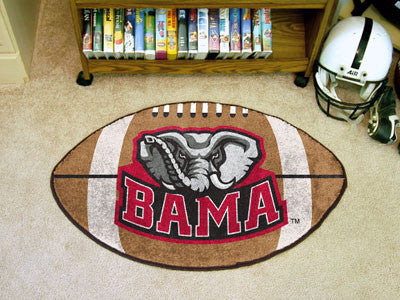 Alabama Crimson Tide Football Mat