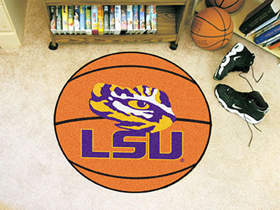 Picture of LSU Tigers Basketball Mat