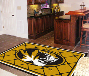 Missouri Tigers 4X6 Rug