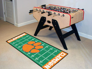 Clemson Tigers Football Field Runner