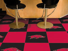 Arkansas Razorbacks Team Carpet Tiles