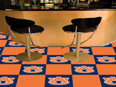 Picture of Auburn Tigers Team Carpet Tiles