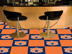 Auburn Tigers Team Carpet Tiles