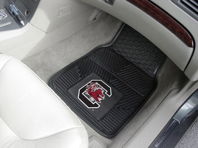 South Carolina Gamecocks 2-Pc Vinyl Car Mat Set