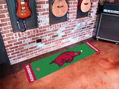 Arkansas Razorbacks Putting Green Mat