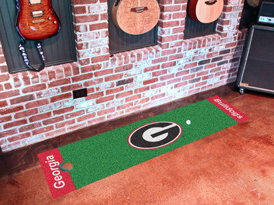 Georgia Bulldogs Putting Green Mat