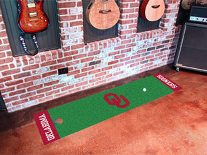Oklahoma Sooners Putting Green Mat