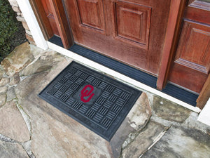 Oklahoma Sooners Medallion Door Mat