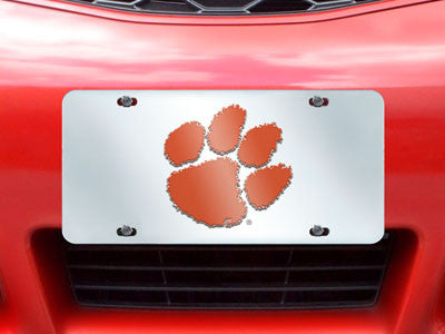 Picture of Clemson Tigers License Plate-Inlaid