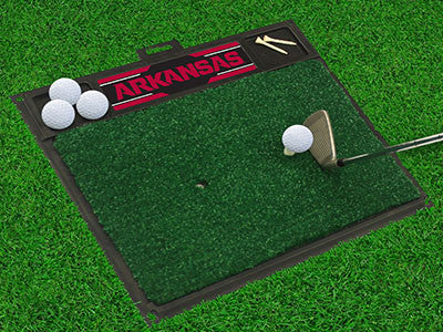 Arkansas Razorbacks Golf Hitting Mat