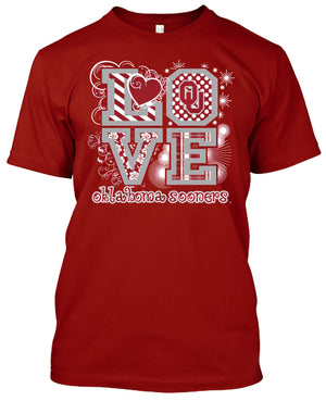 Oklahoma Sooners Love T-shirt