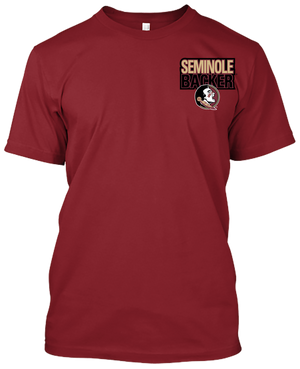 Florida State Seminoles Friends Don't Let Friends Wear Orange T-shirt