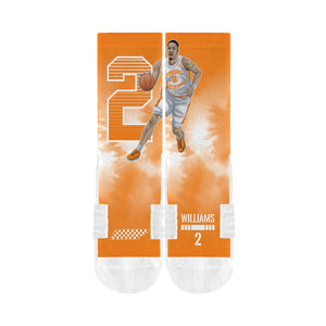 Grant Williams - Tennessee Volunteers Player Crew Socks - Orange