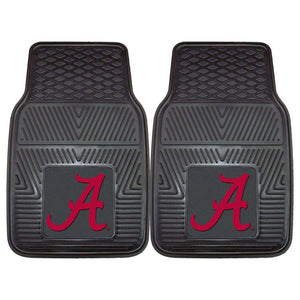 Alabama Crimson Tide 2-Pc Vinyl Car Mat Set