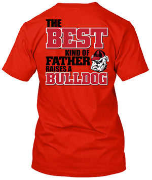 Georgia Bulldogs Best Dad Father's Day Tshirt