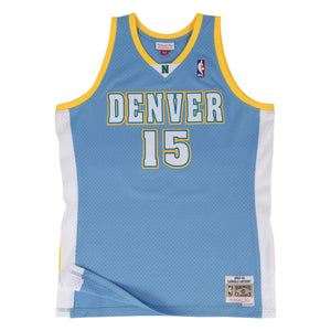 Denver Nuggets Carmelo Anthony Mitchell and Ness Jersey