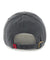 Arkansas Razorbacks Charcoal Clean-up Hat