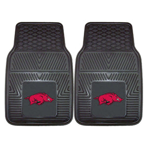 Arkansas Razorbacks 2-Pc Vinyl Car Mat Set