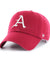 Arkansas Razorbacks Dark Red Clean-up Hat