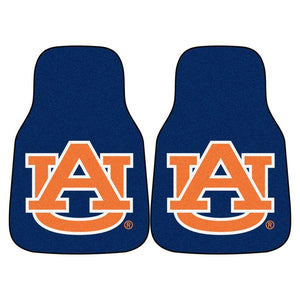 Auburn Tigers 2-Pc Carpet Car Mat Set