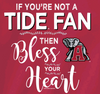 Alabama Crimson Tide Bless Your Heart Tshirt