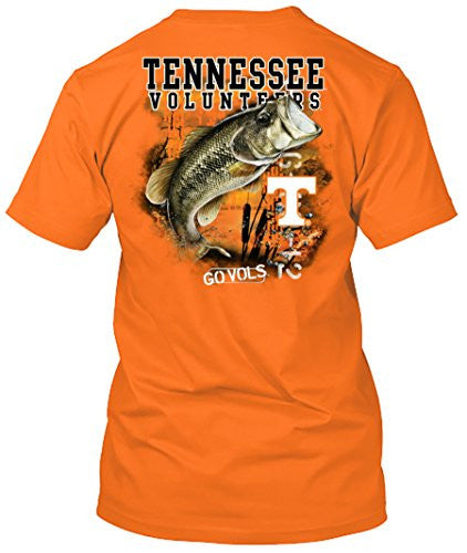 Tennessee Volunteers Bass Fishing T-shirt