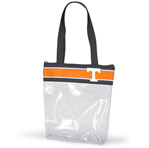 Picture of Tennessee Volunteers Clear Tote Bags For College Stadium Approved With Logo And Zipper