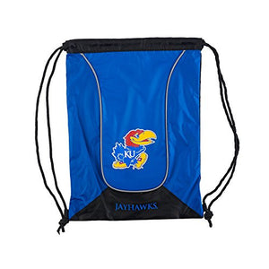 NCAA Kansas Jayhawks DoubleHeader Backsack , 18-Inch, Royal
