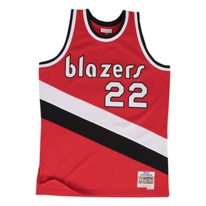 Portland Trailblazers Clyde Drexler Mitchell and Ness Jersey