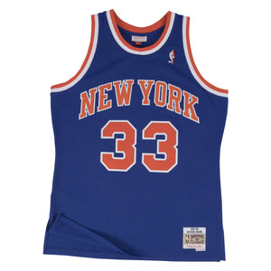New York Knicks Patrick Ewing Mitchell and Ness Jersey