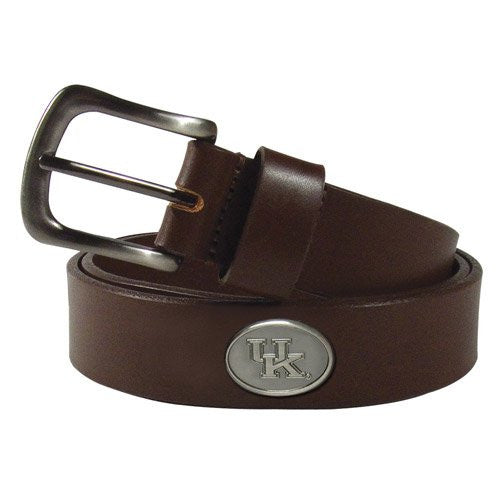 Kentucky Wildcats Casual Brown Belt